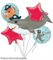 "Folienballon-Set ""Ahoy Birthday"" - 5-teilig"