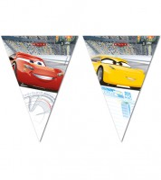 "Wimpelgirlande ""Cars 3 - Evolution"" - 2,3 m"