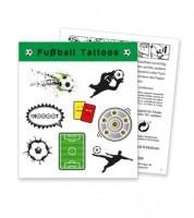"""Tattoos """"Fußball"""" - 1 Bogen"""