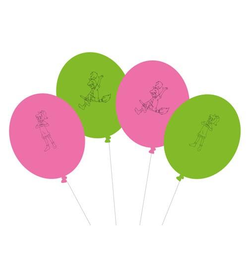 "Luftballon-Set ""Bibi Blocksberg"" - 8 Stück"