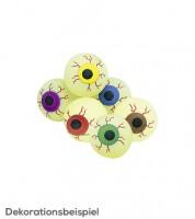 """Flummi """"Auge"""" mit Leuchteffekt - sortiert - 3,3 cm"""