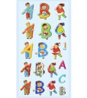 """Softy-Sticker """"ABC Junge"""" - 1 Bogen"""