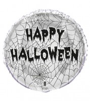 "Runder Folienballon ""Happy Halloween"" - 45 cm"
