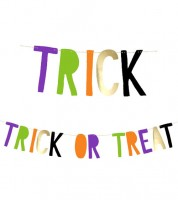 """Trick or Treat""-DIY-Girlande ""Hocus Pocus"" - 1,0 m"