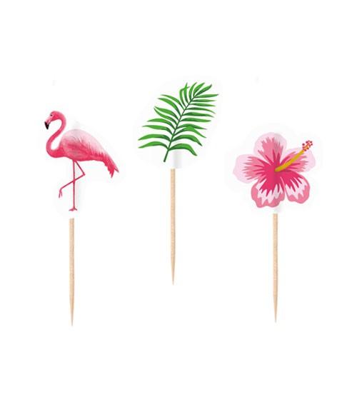 "Party-Picks ""Flamingo Paradise"" - 20 Stück"