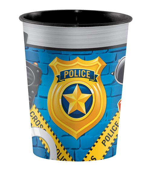 "Plastikbecher ""Polizei Party"""