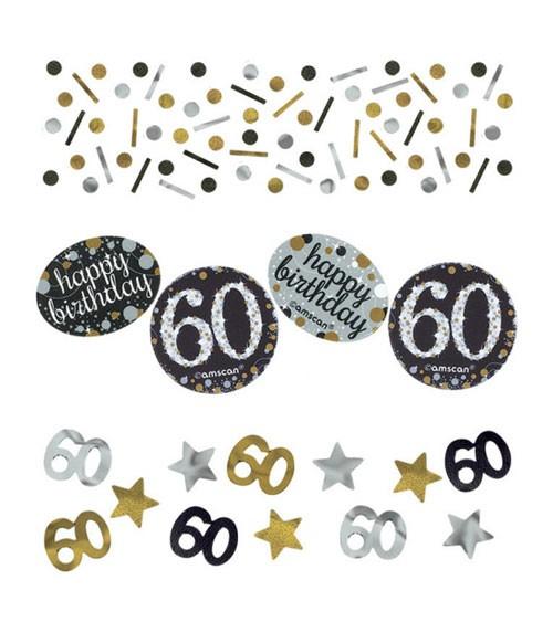 """Konfetti """"Sparkling Celebration"""" - 60. Geburtstag - 34 g"""