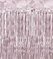 Deko-Vorhang - altrosa - 0,9 x 2,5 m