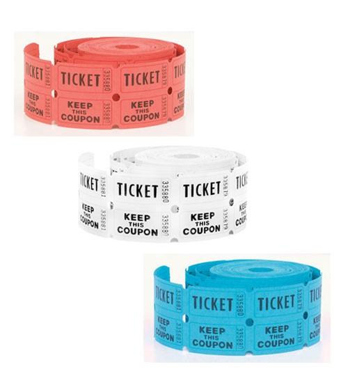 """Eintrittskarten auf Rolle """"Ticket"""" - 500 Abrisse"""