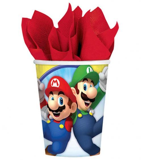 "Pappbecher ""Nintendo Super Mario"" - 8 Stück"