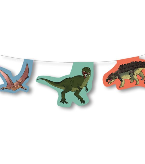 "Wimpelkette ""Dinos"" - 3.5 m"