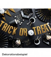 """Trick or Treat""-DIY-Girlande - metallic gold - 80 cm"