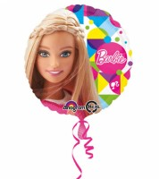 "Runder Folienballon ""Barbie"""