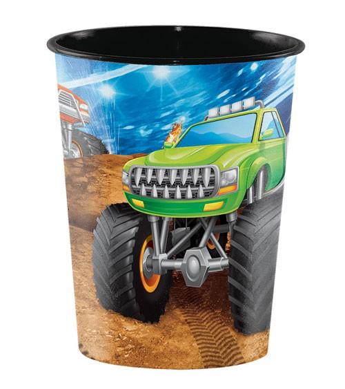 """Plastikbecher """"Monster Truck Show"""""""