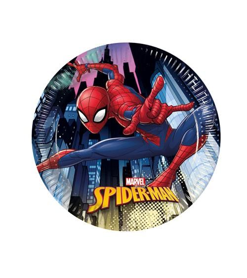 """Kleine Pappteller """"Spiderman - Team Up"""" - 8 Stück"""