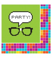 "Servietten ""Nerd"" - Party! - 16 Stück"