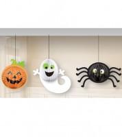 """Lampion-Deko """"Halloween"""" - 3-teilig"""