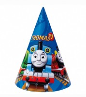 """Partyhüte """"Thomas und seine Freunde"""" - 6 Stück"""