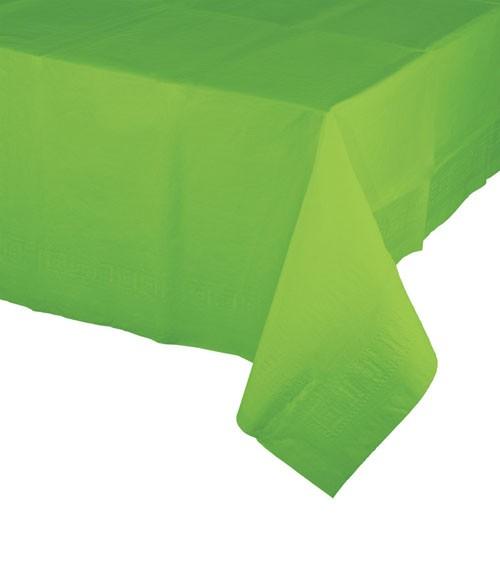 Kunststoff-Tischdecke - fresh lime - 137 x 274 cm