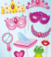 "Photobooth-Set ""Prinzessin"""