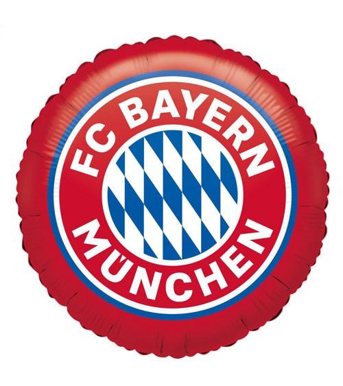 """Runder Folienballon """"FC Bayern München"""" - 43 cm"""