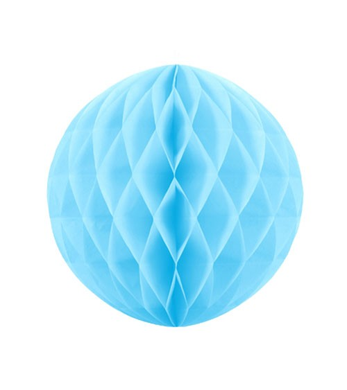 Wabenball - 20 cm - skyblue