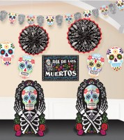 "Deko-Set ""Day of the Dead"" - 10-teilig"