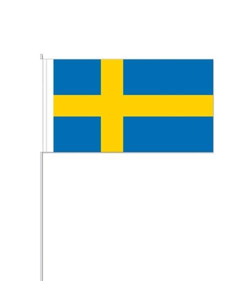 "Papierflaggen ""Schweden"" - 10 Stück"