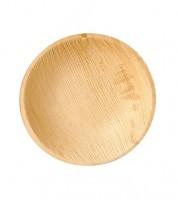 "Palmblatt-Teller ""Pure"" - rund - 18,5 cm - 25 Stück"