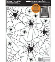 """Fenstersticker """"Spinnennetze"""" - 14-teilig"""