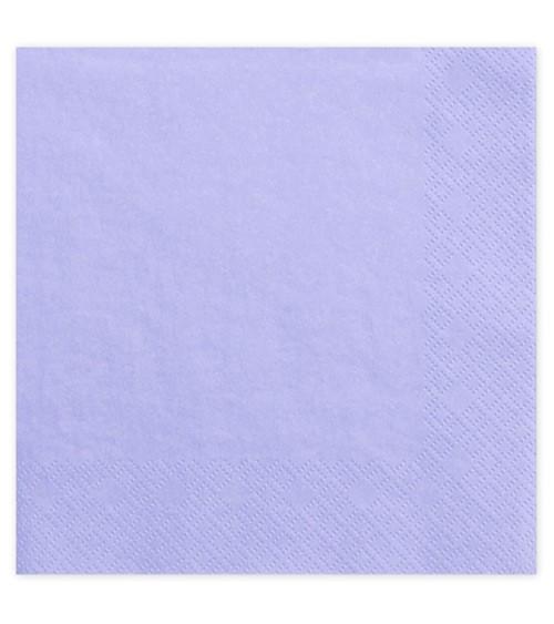 Servietten - lavendel - 20 Stück