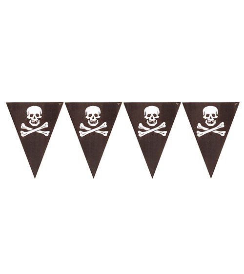 "Wimpelgirlande ""Piratenschatz"" - 3,6 m"
