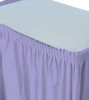 Tischverkleidung - lavendel - 4,26 m
