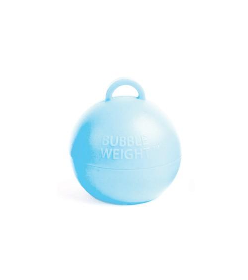 """Ballon-Gewichte """"Bubble"""" - pastellblau - 25 Stück"""