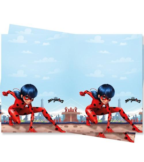 """Kunststoff-Tischdecke """"Miraculous Ladybug"""" - 120 x 180 cm"""