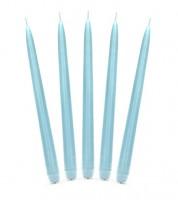 Dinnerkerzen - himmelblau - 24 cm - 10 Stück