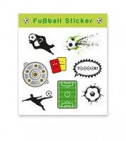 """Sticker """"Fußball"""" - 1 Bogen"""