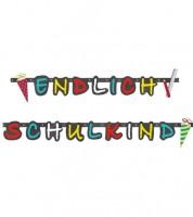 """Girlande """"Endlich Schulkind"""" - 1,8 m"""
