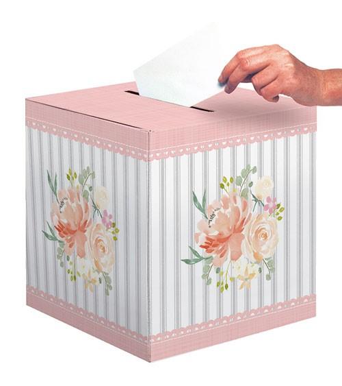 "Kartenbox ""Floral"" - 30,4 x 30,4 cm"