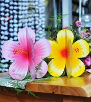 """Tischdekoration """"Hibiskusblüten"""" - 2 Stück"""