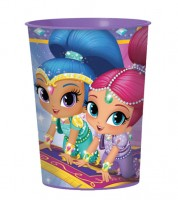 "Plastikbecher ""Shimmer and Shine"""