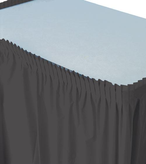 Tischverkleidung - schwarz - 4,26 m