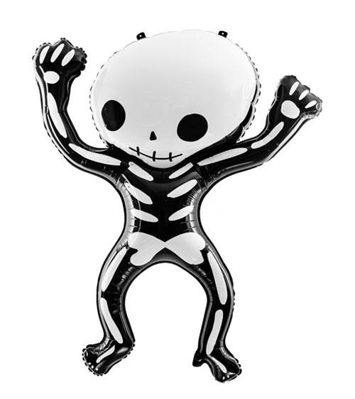 "Supershape-Folienballon ""Skelett"" - 84 x 100 cm"