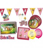 """Partyset """"Bibi und Tina"""" für 8 Personen"""