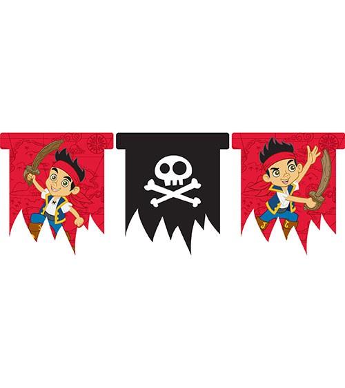 """Wimpelgirlande """"Jake und die Nimmerland-Piraten"""""""