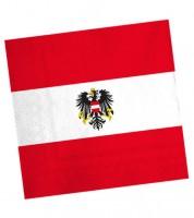 """Servietten """"Österreich"""" - 20 Stück"""
