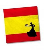 """Servietten """"Spanien"""" - 20 Stück"""