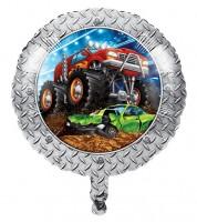 """Runder Folienballon """"Monster Truck Show"""" - 45 cm"""