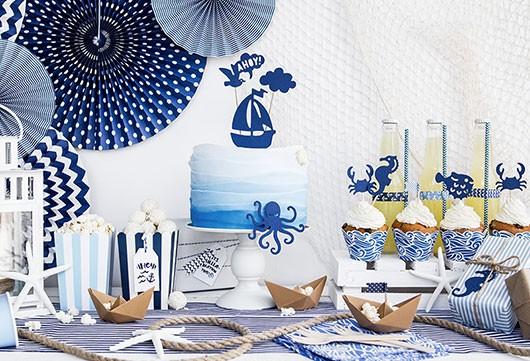 Maritime Deko-Accessoires für Ihre Party im Meeres-Look