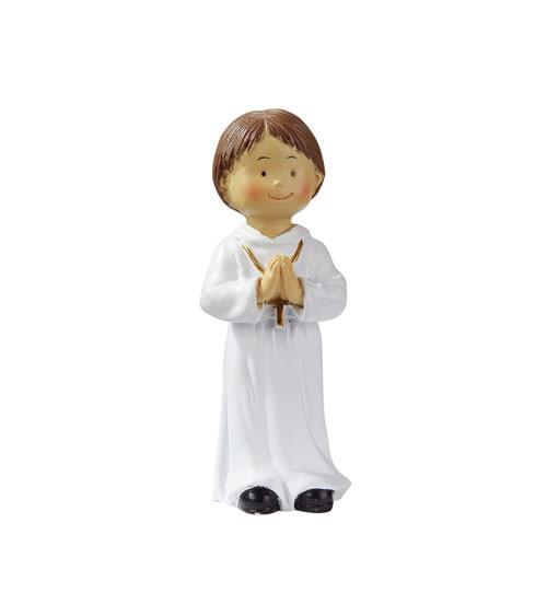"""Deko-Figur """"Kommunion/Konfirmation"""" - Junge - 8,5 cm"""